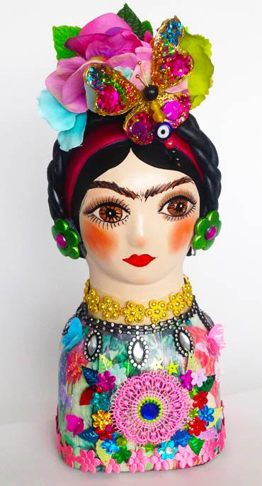 Frida Kahlo in Ceramic
