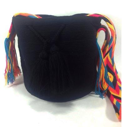 Black Wayuu Mochila