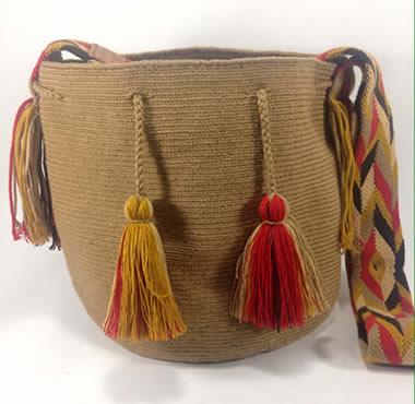 Beige Wayuu Mochila