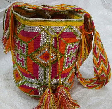 Wayuu Mochila with Sequins