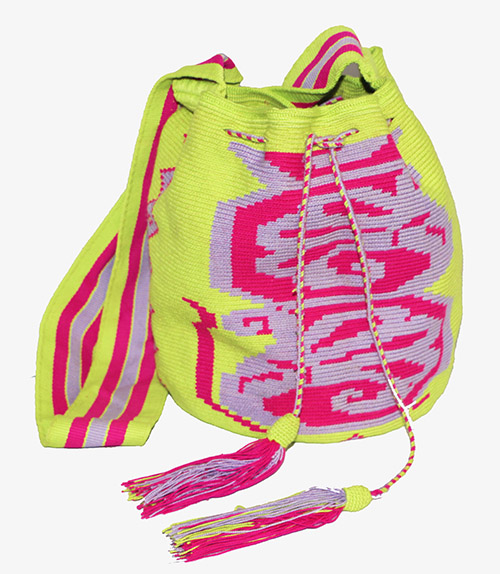 Green Big Wayuu Mochila