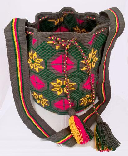 Mochila Wayuu mediana