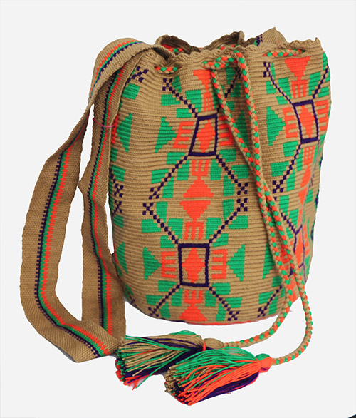 Coffee Big Wayuu Mochila