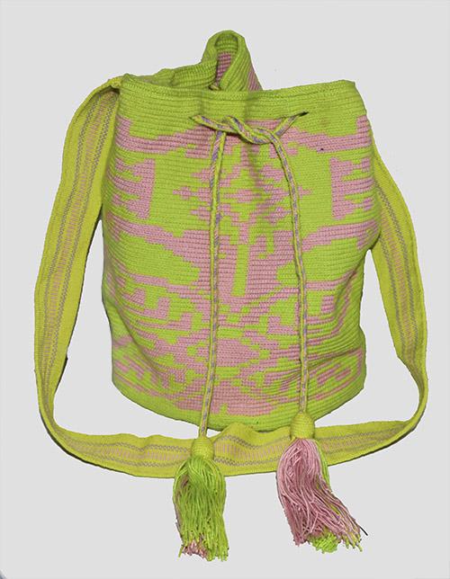 Green Wayuu Mochila