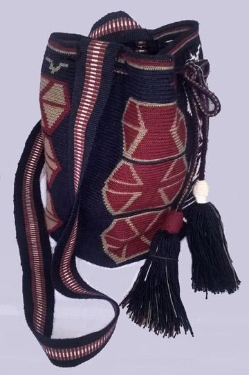 Blue Wayuu Mochila