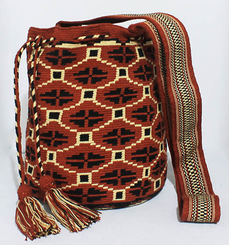 Brown Wayuu Mochila