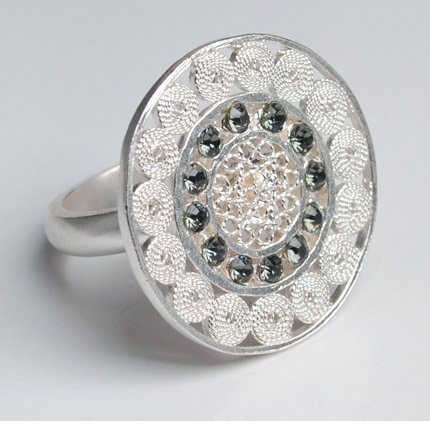 Mompox Filigree Ring