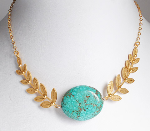 Mompox Filigree Gold coated Necklace