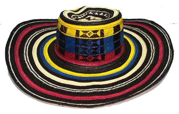 Sombrero Vueltiao Quinciano en Colores