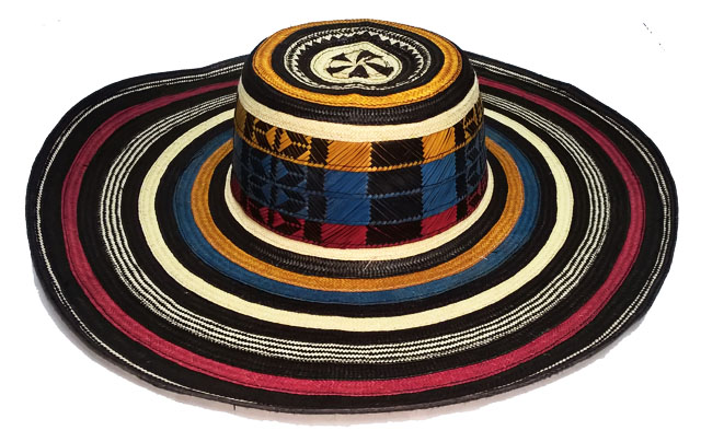 Sombrero Vueltiao Machinbreado en Colores