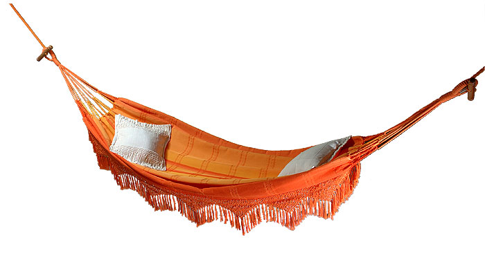 Macrame & Cotton Hammock