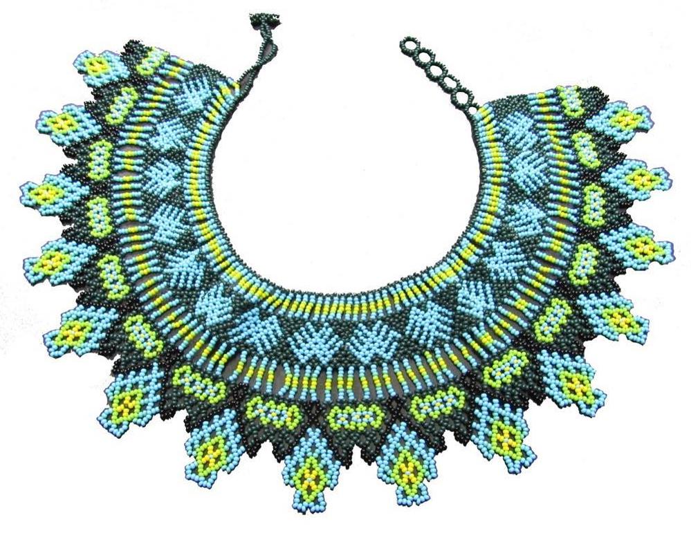 1ed520f397ed Collar Beda Dru - Collares Embera en Chakiras de colores - Productos ...