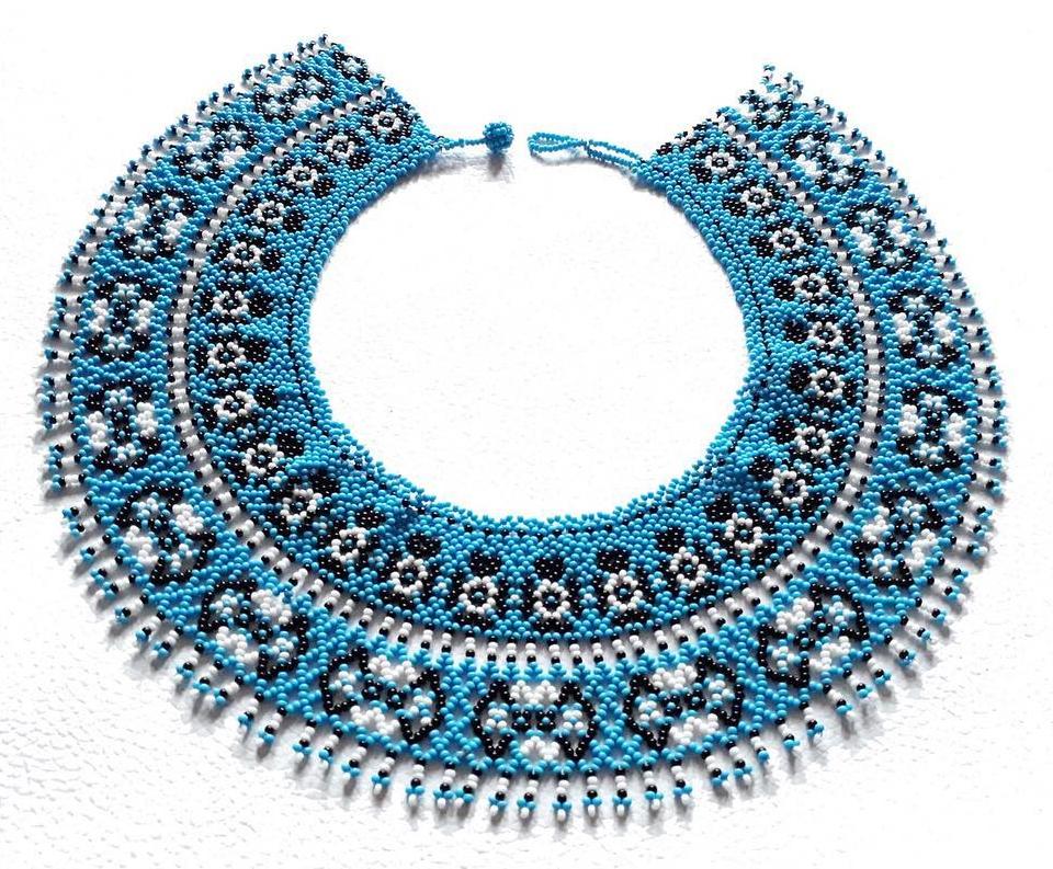 85951019b141 Collar Embera Donofono - Collares Embera en Chakiras de colores ...