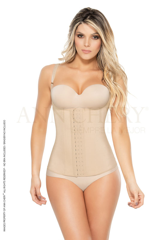 Ann Chery Colombian Garments Luxury Line - Ann Chery Semi-Vest Girdle 4020