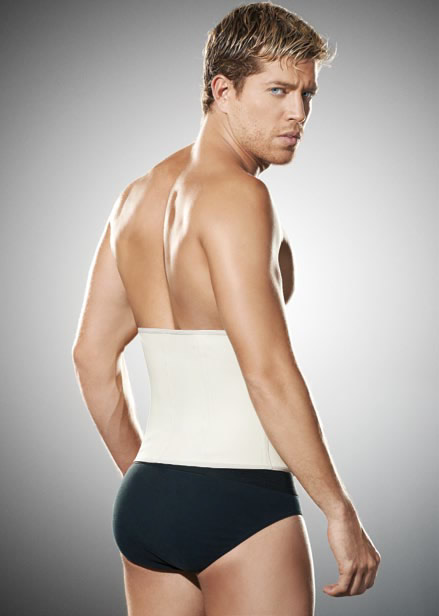 Men Garments and Body shapers - Ann Chery 2031 Classic Latex Waist Cincher for Man