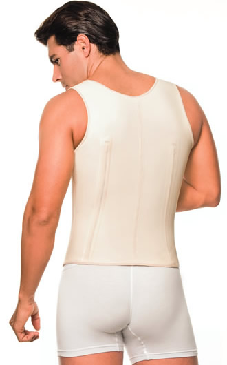 Men Garments and Body shapers - Ann Chery 2033 Latex Vest for Man