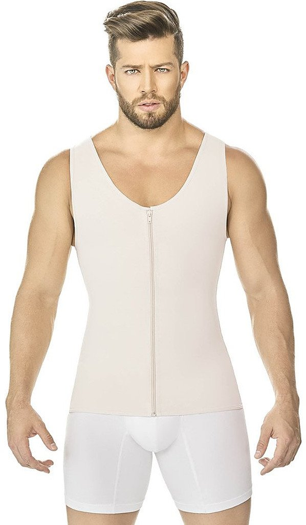 Men Garments and Body shapers - Ann Chery 2034 Powernet Vest for Man