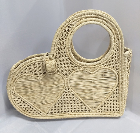 Purses and Handbags made in Iraca Palm - Iraca Palm Heart purse