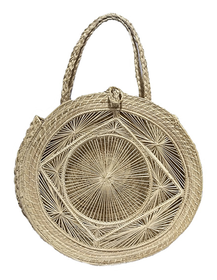 Purses and Handbags made in Iraca Palm - Iraca Palm Rombus Purse