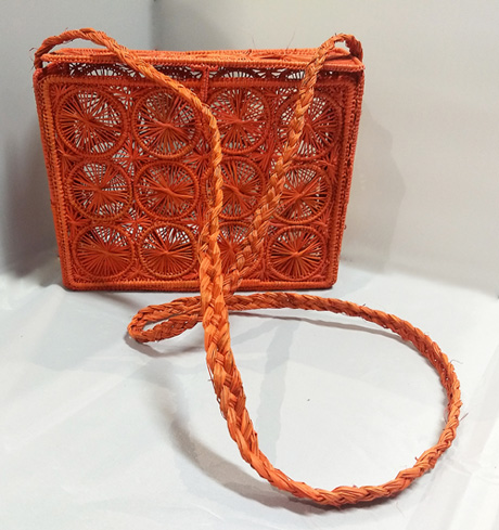 Purses and Handbags made in Iraca Palm - Iraca Palm Square purse