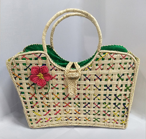 Purses and Handbags made in Iraca Palm - Iraca Palm Star purse