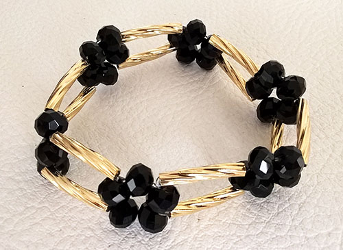 Colombian Bijouterie and Bracelets - Party Black Bracelet