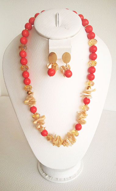 Colombian Fine Bijourie in stones - Agatha Necklace