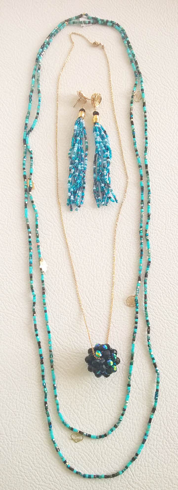 Colombian Fine Bijourie in stones - Long Necklace
