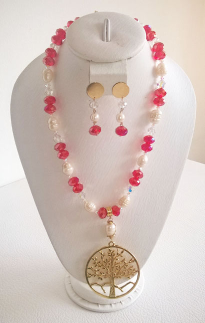 Colombian Fine Bijourie in stones - Murano Necklace
