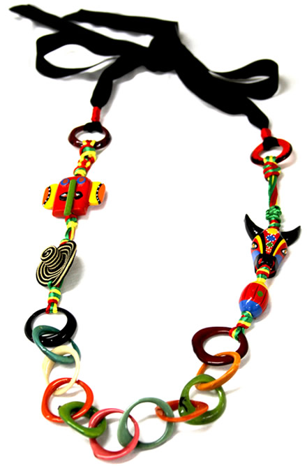 Necklaces of Barranquilla Carnival - Carnival Tagua Necklace