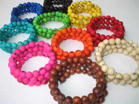 Bracelets and Accesories made with Tagua seeds - Asahi Bracelet