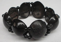 Bracelets and Accesories made with Tagua seeds - Coconut Bracelet