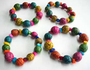 Bracelets and Accesories made with Tagua seeds - Tagua Bracelet