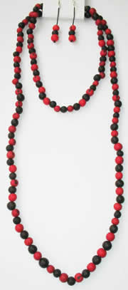 Necklaces in Tagua, Bombona and seeds - Asahi Necklace