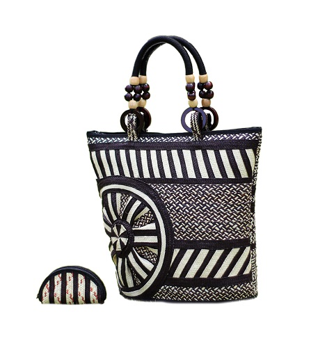 Cana Flecha handmade Purses - Caña Flecha straw Purse and Wallet