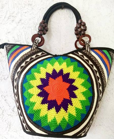 Cana Flecha handmade Purses - Color Canaflecha Star Purse
