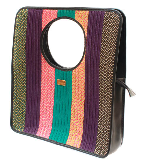 Bags and Purses made in colombian Leather - Rectangle Leather Handbag