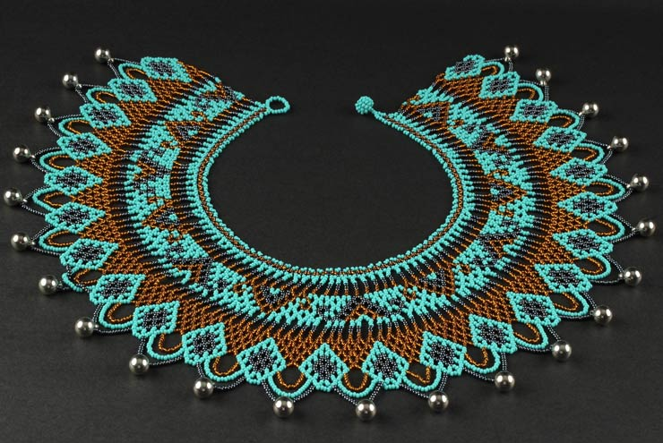 Embera Necklaces made with multicolor Chakiras - Awera Embera Necklace