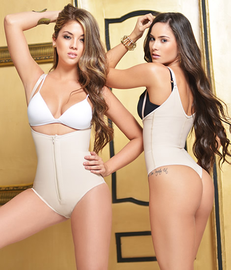 Colombian Body Shapers and Compression Garments - Body Shaper Thong Garment