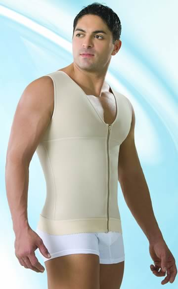 Colombian Body Shapers and Compression Garments - Male Compression Vest - Male Garments