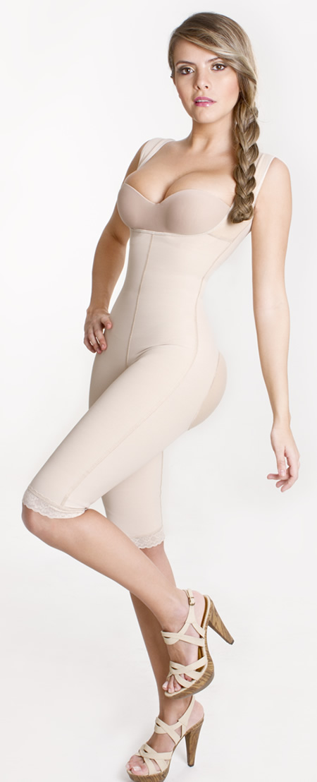 Colombian Postsurgical Body shapers and Girdles - Body Shaper with butt enhancer