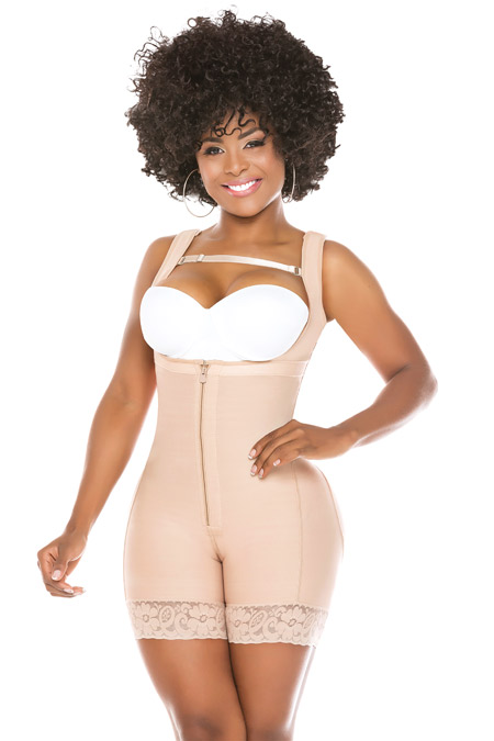 Salome Colombian Fajas Molding Shapewear - Colombian Faja 0518-2 liposculpture short sisa sleeves