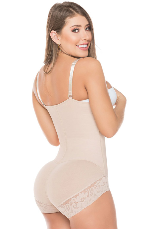 Salome Colombian Shapewear Body Line - Salome Panty Lace Body Strapless 0412