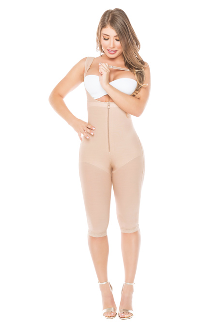 Salome Colombian Fajas Molding Shapewear - Salome long Girdle 0520 liposculpture with butt lifter