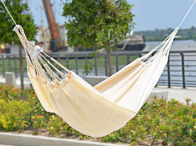 Typical Colombian Hammocks - White Hammock
