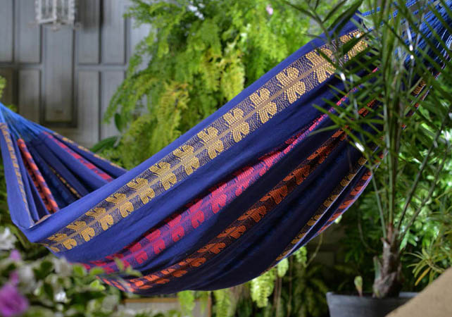 Typical Colombian Hammocks - Butterfly Macondo Hammock