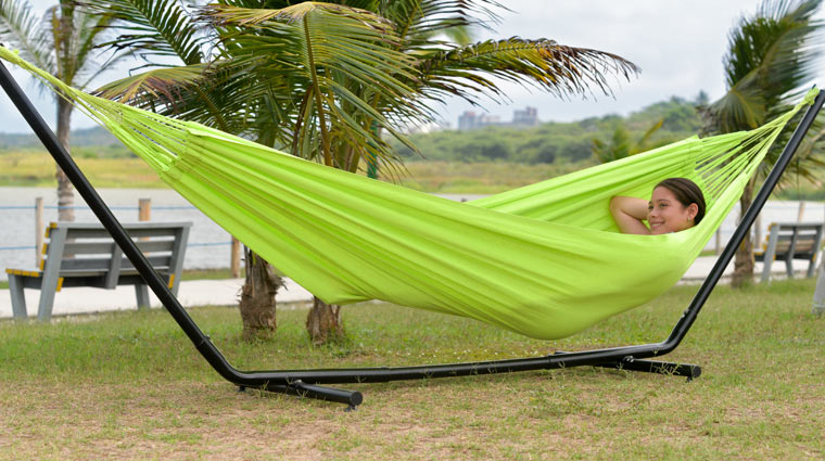 Typical Colombian Hammocks - Green Hammock