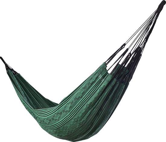 Typical Colombian Hammocks - Typical Colombian Green Hammock