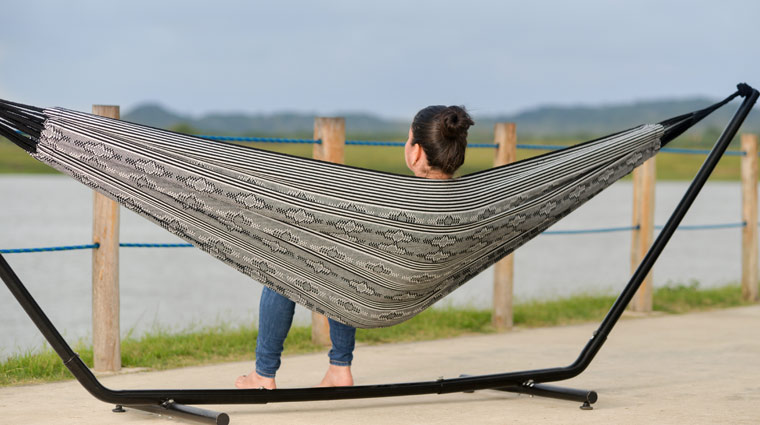 Typical Colombian Hammocks - Black and Rays Typical Hammock