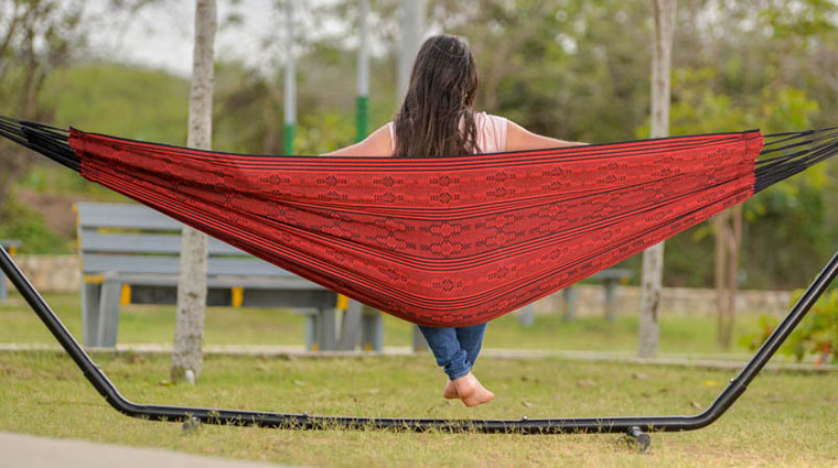 Typical Colombian Hammocks - Typical Red Hammock